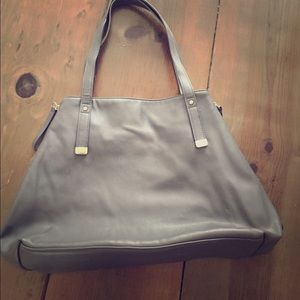 Forever 21 Gray Purse tote bag